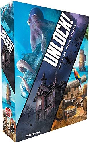 Asmodee - Unlock Mystery Adventures - Juego de Mesa de edición en Italiano, Multicolor, SCUNL02IT