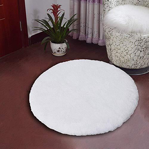 QUANHAO Flächenteppiche für Wohnzimmer, flauschig zottelig Superweicher Teppich Geeignet als Schlafzimmerteppich Teppiche Heimdekor Kinderzimmer Teppiche Kindermatte