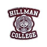 Kingpinz Premium Accessory Co. Hillman College Hard Enamel Lapel Pin