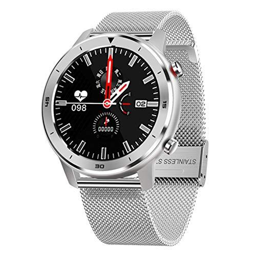 JXFF DT78 Smart Watch Men's Y Mujer Pulsera Fitness Activity Tracker Wearable Smartwatch Pulsera Monitor De Ritmo Cardíaco Monitor De Reloj Deportivo para Android iOS,B