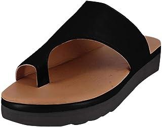 Damessandalen met laag teengebied, met plateau, voor de zomer, zwart, open tenengebied, grote maten, casual sandalen voor ...