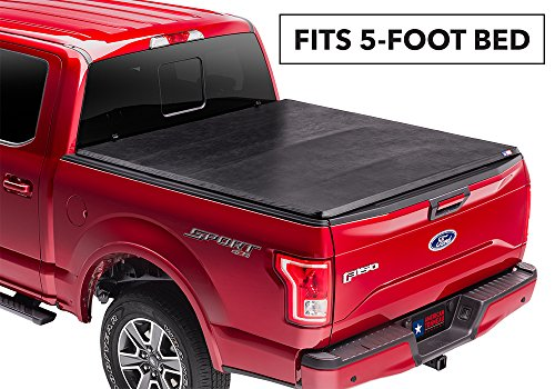American Tonneau Company Soft Folding Truck Bed Tonneau Cover | 66317 | Fits 2019-20 Ford Ranger 5' Bed