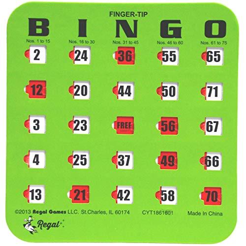 Regal Games Easy Read 4-Ply Bingo Cards