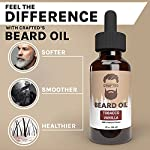 Best Beard Oil for men – Crafted Beard Oil Conditioner - Tobacco Vanilla Scent – All Natural Beard Oil and Mustache Oil… 4