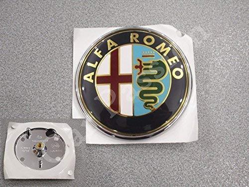 Alfa Romeo Stemma Logo Anteriore Mito 147 FREGIO Originale 74mm