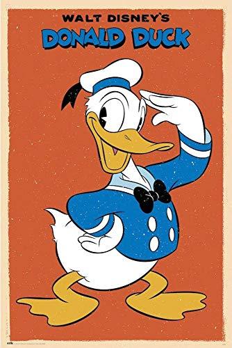 Close Up Poster Disney - Donald Duck (61cm x 91,5cm)