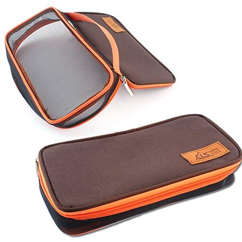 Jiacheng29 Portable Baguettes Cuillère Fourchette Table-knife pique-nique Box Tote Sac de rangement extérieur