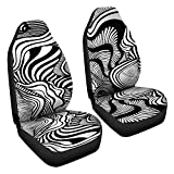 Trippy Doodles Car Seat Covers for Vehicle Psychedelic for Car for Women Car Seat Cover Girl Boho Car Seat Covers