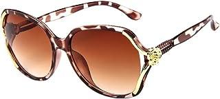 3735e440ff6 TANGSen Unisex Mens Womens Rose Big Frame Retro Vintage Sunglasses Outdoor  Fashion Casual Eyeglasses