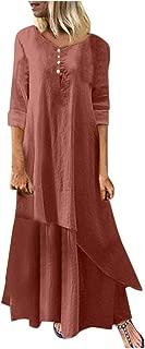 LILICHIC Fashion Chic Women Print Splice Long Sleeve Pocket O-Neck Casual Dress