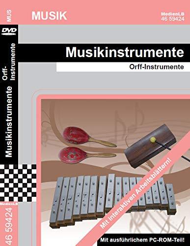 Musikinstrumente - Orff - Instrumente Nachhilfe geeignet, Unterrichts- und Lehrfilm
