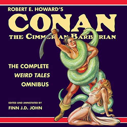 Robert E. Howard's Conan the Cimmerian Barbarian cover art