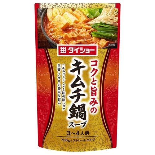ダイショー コクと旨みのキムチ鍋スープ 750g×10袋入