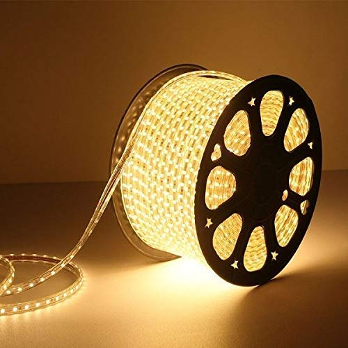 Gesto 20 Meter LED Rope Light Pipe Light (Warm White) Decorative Light, LowPrice Festiveal, Ceiling Light, Home,Office, Diwali, Eid & Christmas Decoration, Birthday, Stage Decoration-Pack of 1