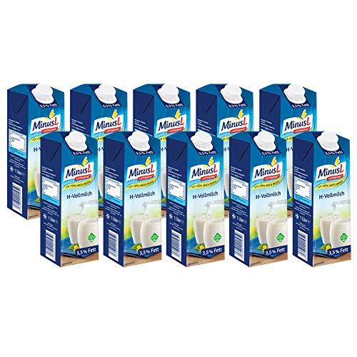 MinusL H-Milch 3.5 laktosefrei, 10er Pack (10 x 1 l)
