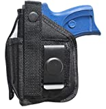 Holster for Ruger LC9, LC9s, EC9s & LC380 with Underbarrel Laser Mounted on Gun
