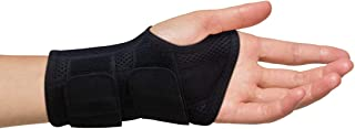 Carpal Tunnel Wrist Brace for Men and Women - Day and Night Therapy Support Splint for Relief of Arthritis, Wrists, Arm, Thumb and Hand Pain - Adjustable Straps (Left Hand - Small-Medium)