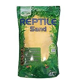 Pettex Reptile Coloured Calci Sand, 4 Litre, Yellow
