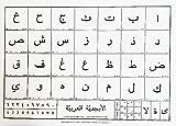 Arabisches Alphabet Poster, 50x70 cm