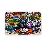 Grande puzzle Dragon Ball zerbino lavabile per interni soggiorno camera da letto decorazione casa, 60 x 40 cm