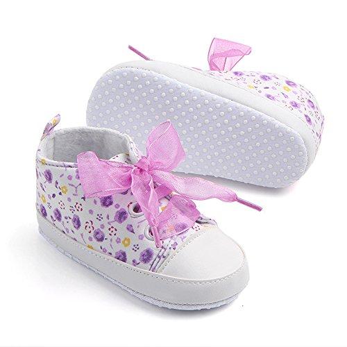 Zamac bébé Coton Chaussures antidérapant bébé fille Chaussures Sangles conçus Cute Shoes (0–18 m)
