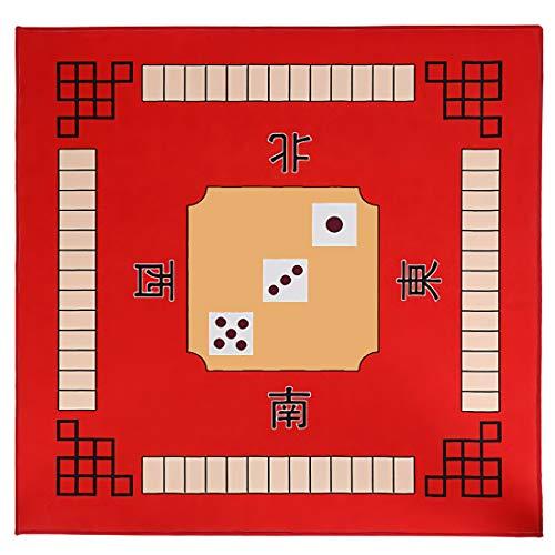 """Tischdecke Für Universal Mahjong Spieltischdecke Card Poker Mahjong-Matte Kartenspiele Brettspiele Dominosteine Spieltisch Game Table Cover 31\"""" X 31\"""""""