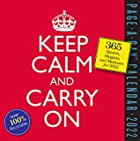 Keep Calm and Carry On Page-A-Day Calendar 2022