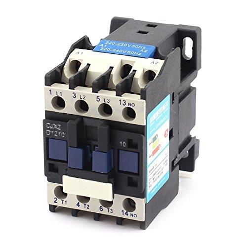 DealMux a14110400ux0047 AC contactor del motor de arranque del relé 3-Fase 1 NA Polo 220V Voltaje de la bobina Ui 660V 25A Ith
