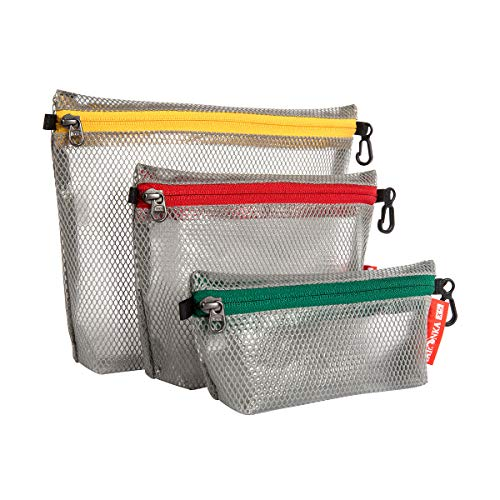Tatonka Zip Pouch Pochette Set, Grey, 25 x 20 x 5 cm