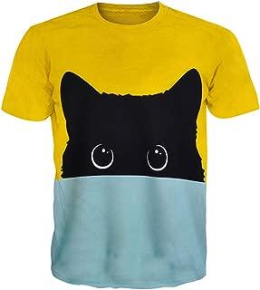 Unisex T Shirt 3D Print Reggae Hip Hop Swag T-Shirt Tops