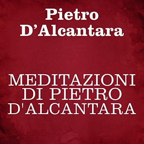 Meditazioni di Pietro d'Alacántara copertina