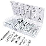 Kit de Surtido de Resortes, Juego de surtido de resortes de resorte de acero para Resortes de Compresión (200 piezas)