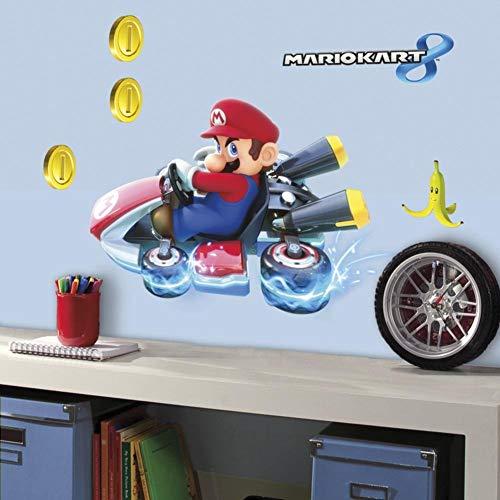 RoomMates Décor géant Mario Kart 8