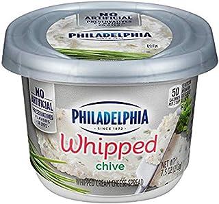 Philadelphia Chive Whipped Cream Cheese Spread, 7.5 oz Tub