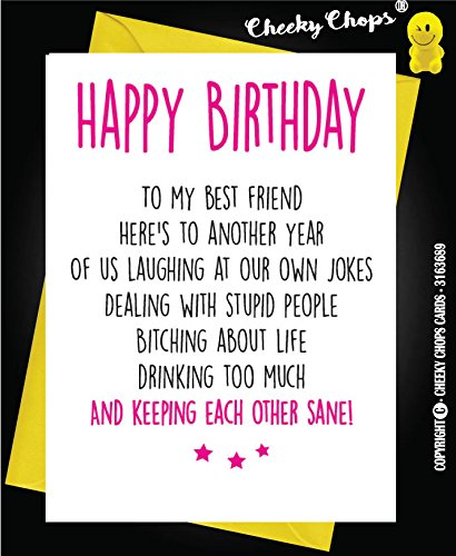 Pleasing Cheeky Chops Cards The Best Amazon Price In Savemoney Es Personalised Birthday Cards Xaembasilily Jamesorg