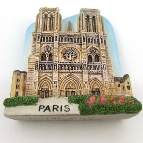 Europe Fridge Magnet Souvenir Notre-Dame Kathedrale de Paris Frankreich Harz Kühlschrankmagnet 3D Magnet