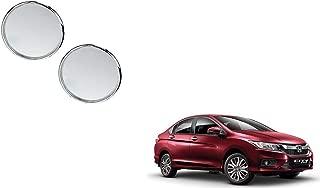 Autoladders Chrome Blind Spot Mirror Set of 2 for Honda City