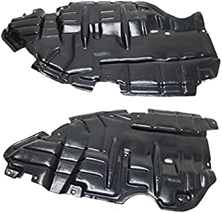 Koolzap For 15-17 Camry Front Engine Splash Shield Under Cover Guard Left Right PAIR SET