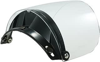 Docooler Helmet Universal 3 Snap Flip Up Visor Shield Lens for Retro Open Face Motorcycle