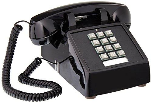 Cortelco ITT-2500-V-BK na 1 teléfono Fij