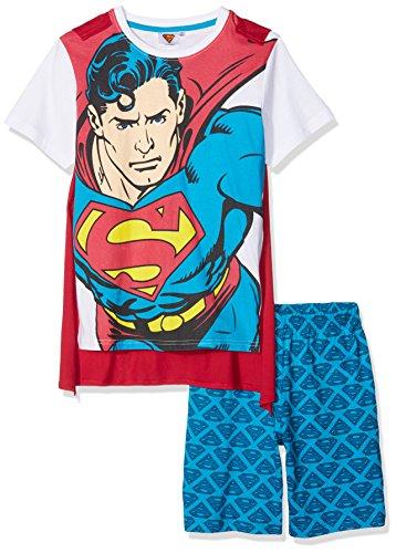Superman 174121 Conjuntos de Pijama, Rojo (Rouge), 10 años