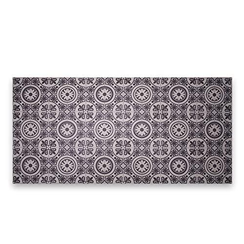 LAMARE Tapis en Vinyle - Couleur Noire - 150 x 100 cm
