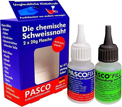 PASCOFIX soldadura química pegamento fuerte para todo superglue loctite pegamento para tela super glue pegamento madera extrafuerte bondic