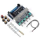 Placa de Amplificador Mono - Placa de Amplificador de Potencia Digital Placa de Amplificador de Sonido Hi-Fi de Canal Izquierdo y Derecho Placa estéreo