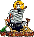 Hippy On Truck - On The Road Again - Enamel Pin
