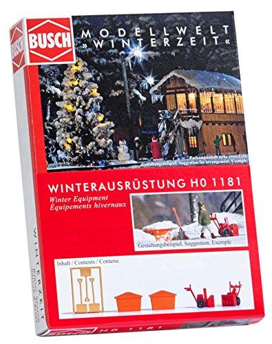 Busch 1181 – équipement d'hiver, véhicule
