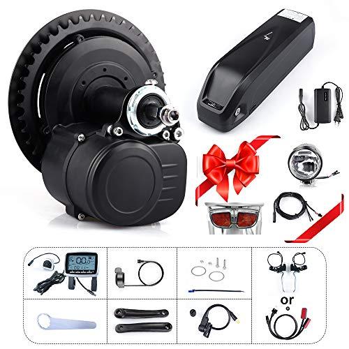 TongSheng TSDZ2 36V 250W 350W 48V 500W Torque Sensored Bricolage eBike Mid Drive Kit Moteur...