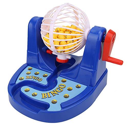 Clasken Juguete de Bola de números de lotería, máquina de lotería, manivela para niños, Juguete para Padres e Hijos, Regalo, Rompecabezas, Juguete