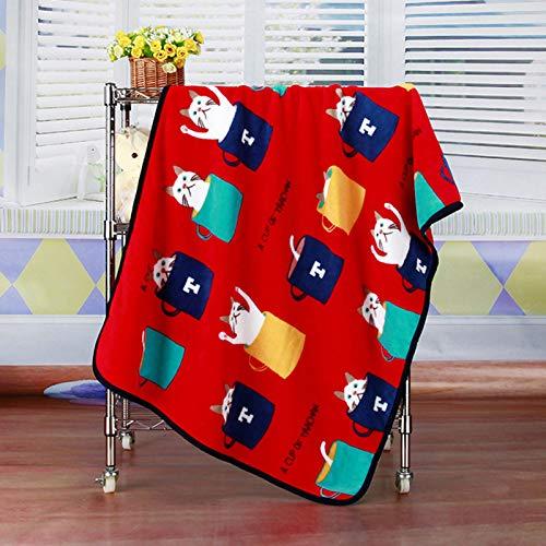 LYYJF Bettüberwurf, Decken – superweiche, flauschige, warme Flanell-Tagesdecke –...