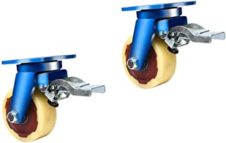 WaiMin Super Heavy Duty Casters, industriële roterende Caster, woonapparaat lagerCastor, 20cm-35cm Iron Core Nylon Caster ...